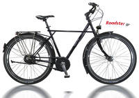 Utopia Velo - Roadster 8-G. Alfine 26'' Damen 24,8Ah