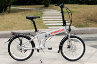 Energie Cycles - Excursion 2.0 - Chainless Folding bike